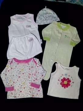 Bundling baju baby girl