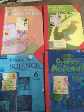 IIUI SCHOOL SYSTEM COMPLETE BOOKS FOR 1 & 6 AVAILABLE FOR SALE ON 50%
