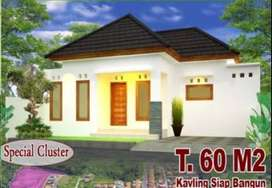 Rumah cantik di perumahan elite - Gianyar - Type 60 / 100