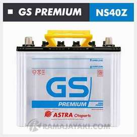 delivery aki/accu murah gs premium ns40z7&NS40ZL 12v 35ah 10