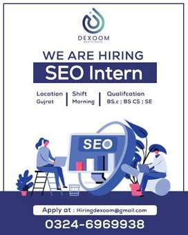 SEO internee Required