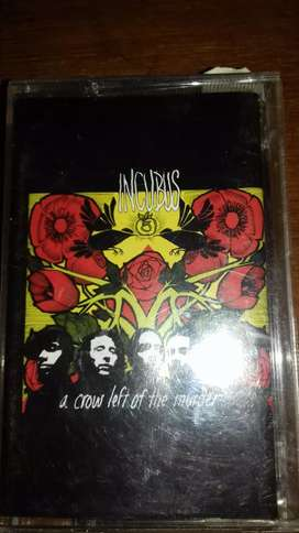 Kaset pita incubus a crow left of the murder