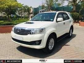 Toyota Fortuner 2013 Diesel 100000 Km Driven