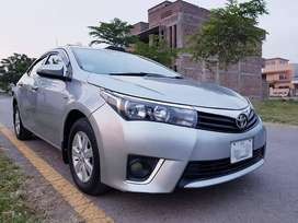 Toyota Corrola Altis 1.6 New Shape on easy installment