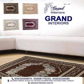 Get carpets in sale by Grand interiors