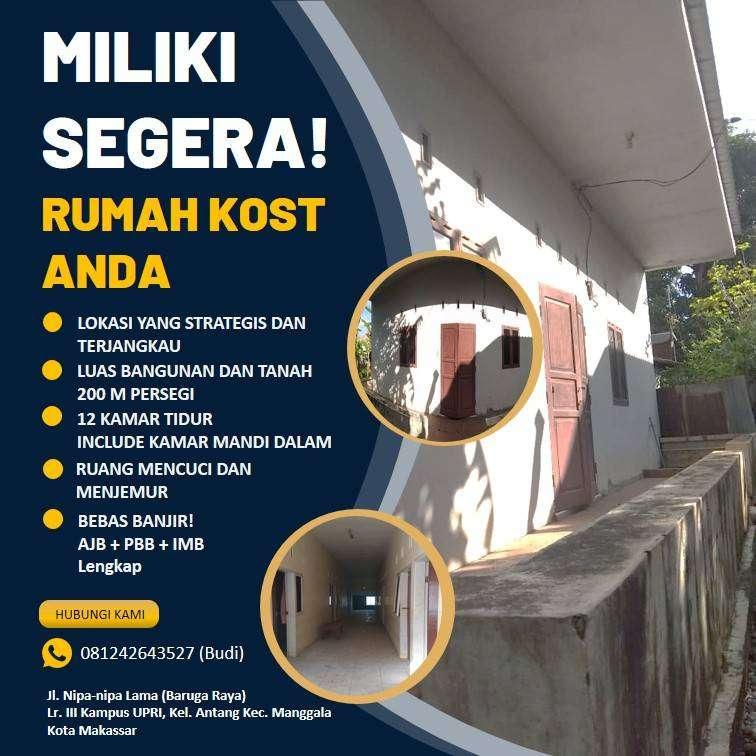 Dijual Rumah Model Kos Makassar 0
