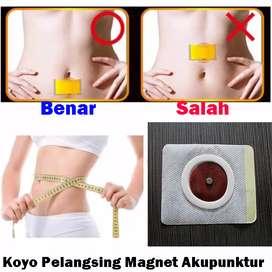 Koyo Pelangsing Magnet Akupunktur Slimming Patch Herbal (isi 10 lbr)