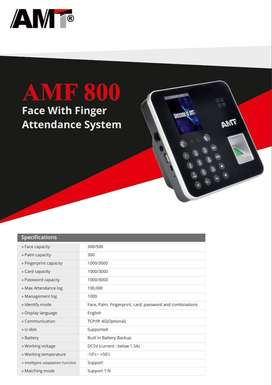 AMF 800 Face With Fingerprint Attendance System