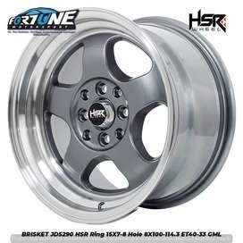 BRISKET JD5290 HSR R15X7-8 H8X100-114,3 ET40-33 GREY ML