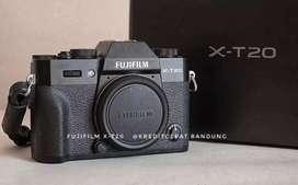 Kredit Kamera Mirroles Fuji Film XT-20 Dp cuma 1.200k