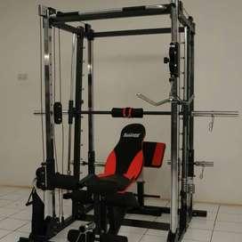 Alat Fitness Power Rack Bench Press Total Cilacap