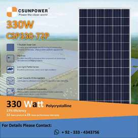 C-SUN  Solar Modules 330 Watt (Limited Time Offer)