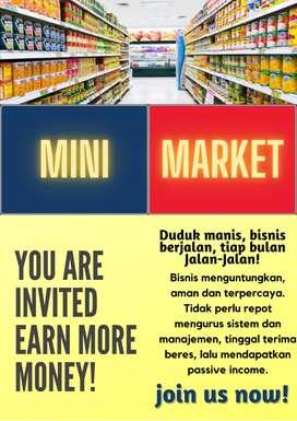 Dijual Bangunan Minimarket Alfa Semplak, Bogor