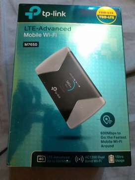 TP LINK M7650 4G LTE ROUTER