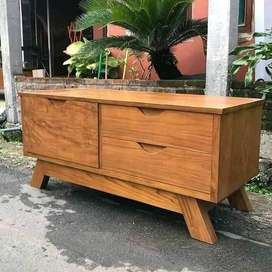 Meja tv kayu jati, Meja tv kayU, Meja tv kayu sederhana