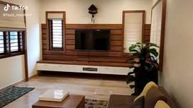 Interior work with modern design and quality