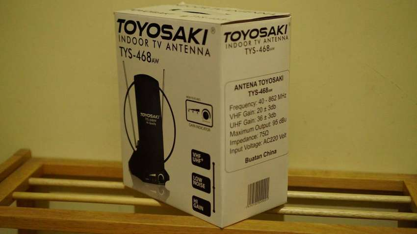 Jual cepat Indoor TV Antenna Merk Toyosaki (TYS-468aw) 0