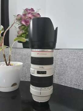 Canon EF 70-200mm 2.8f tele lens for sale