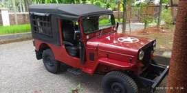 Modified Mahindra Jeep,  Diesel Well Maintained