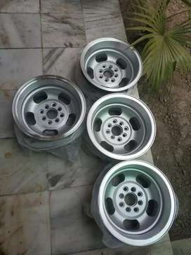 Deep dish alloy rims. 14 inch. Multi PCD. Made in Australia. NO chat