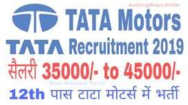 TATA MOTORS RECRUITMENT ONLINE APPLY