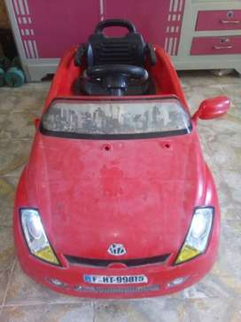 Red And Black Ride-on Car Toy