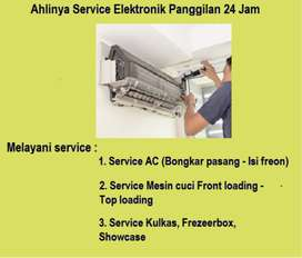 Jasa Perbaikan Ac SAMSUNG kulkas tidakdingin ,Mesin cuci /isi freon
