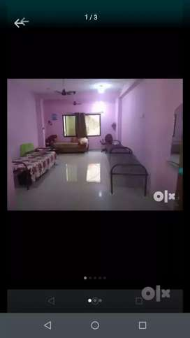 Room for girls with geyser facility 24 hrs water .. 1 cot vacant..