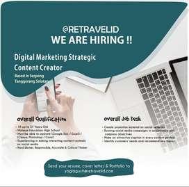 Digital Marketing Strategic or Content Creator