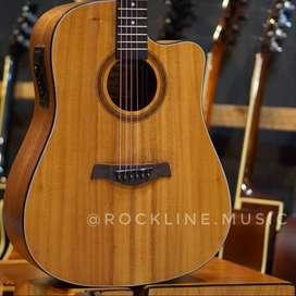 Gitar Akustik elektrik camwood dof