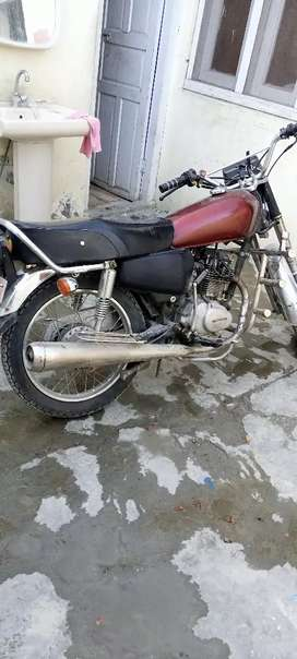 Honda 125 old model for sale urgently
