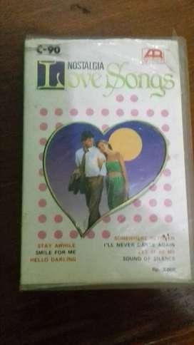 Kaset pita nostalgia love songs