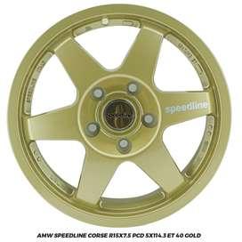 JUAL VELG XPANDER BRV LUXIO TERIOS AMW SPEEDLINE CORSE R15X7.5 5X114,3