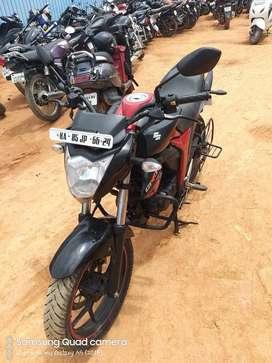 Good Condition Suzuki Gixxer Sf with Warranty |  6624 Bangalore