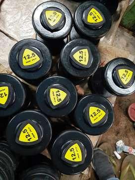 Gym dumble plate wholesale .per kg.