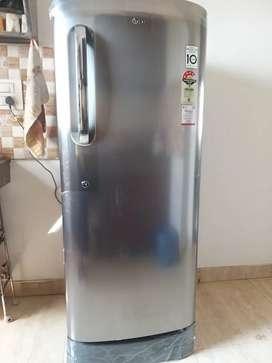 LG 235Lt fridge bought in feb'21