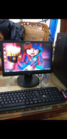 Komputer intel Q45 design games Ram 4gb Mobo 4Slot Ram