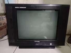 Tv tabung 21in merk mitochiba slim flat normal