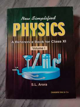 S.L Arora PHYSICS reference book for class XI.