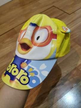Topi anak pororo