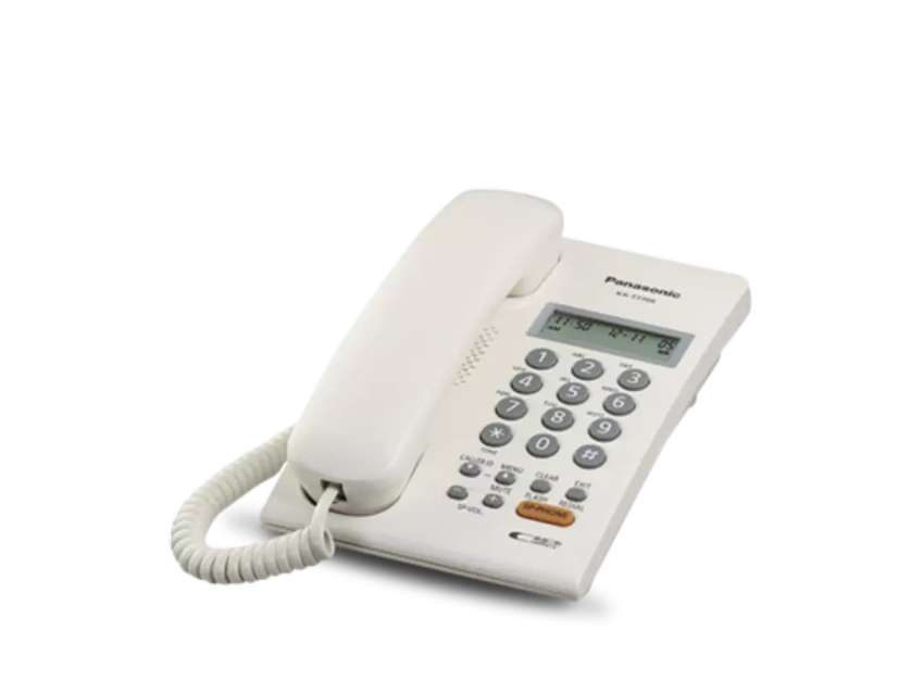Panasonic cli telephone set ts-7709 0