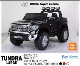 Mainan Mobil Aki Anak Toyota Tundra (Official Licensed) Merk Uni Kid