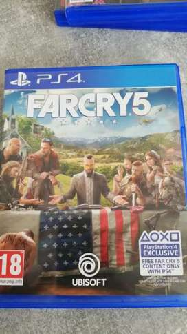 Selling new far cry 5 ps4 disc