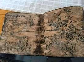 Tulisan Lampung Diatas Kulit Kayu