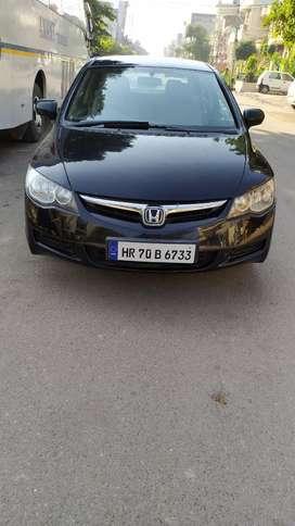 Honda Civic 1.8E Manual, 2007, Petrol