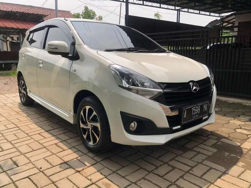 Daihatsu Ayla R 1.2 M/T th 2019 warna putih KM 96rb