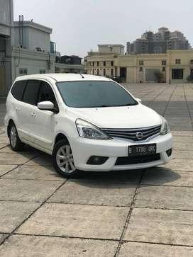 Nissan Grand Livina XV AT 2013 Facelift. Surat2 lengkap. Siap Pakai !!