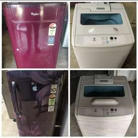 Fridge washing machine good working condition