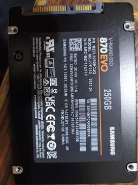 Samsung 870Evo SSD 250GB