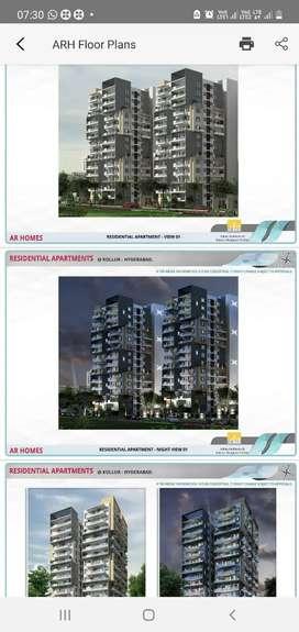 HMDA RERA approved 1062 flats 9towers 13flors Gated Community @Miyapur